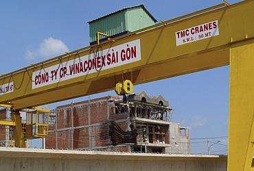 3 bộ cầu trục 32 tấn x Lk 39m và cầu trục 15 Tấn x Lk 30m - Tôn Hoa Sen, Phú Mỹ - Bà Rịa