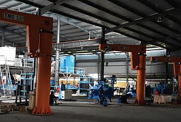 Cổng trục 50 tấn x Lk 18m, Long An