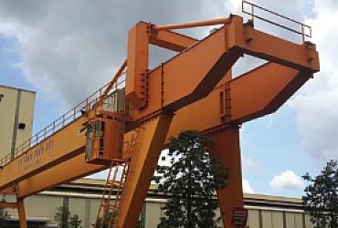 Cổng trục 32 tấn x Lk40m,Tôn Hoa Sen, Phú Mỹ- Bà Rịa