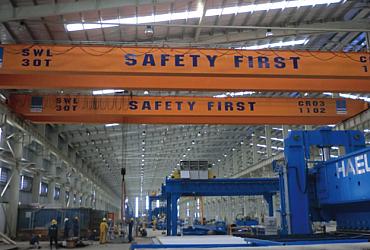 Cổng trục 25 tấn x Lk 16m, PV Pipe, Gò Công, Tiền Giang