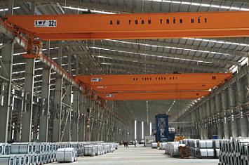 Cầu trục 32T tấn x Lk 30m, Phú Mỹ - Bà Rịa