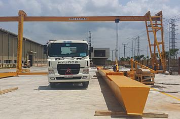 Cổng trục chữ C - 5 tấn x Lk 30m, Phú Mỹ - Bà Rịa