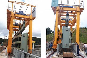 Cổng trục 40 tấn, Thủy điện Thượng Kon Tum