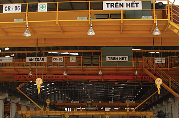 Cổng trục 30 tấn x Lk 30m, Consol 4.5mx2 Tôn Nam Kim, Bình Dương